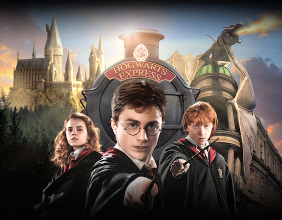 The Wizarding World of Harry Potter at Universal Orlando Resort. Promo art via Universal