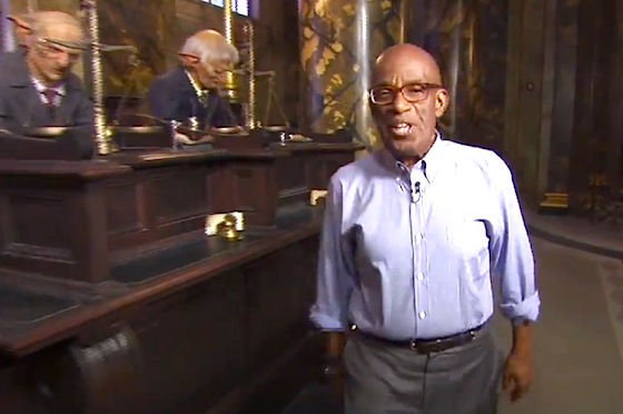 The Today Show's Al Roker in Diagon Alley
