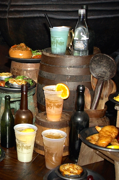Leaky Cauldron drinks