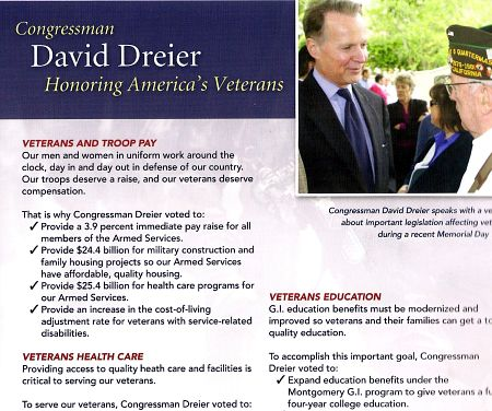 Dreier for Congress flyer