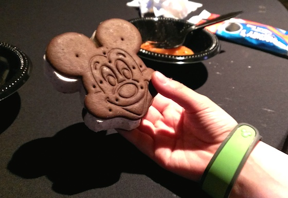 Mickey bar, and MagicBand!