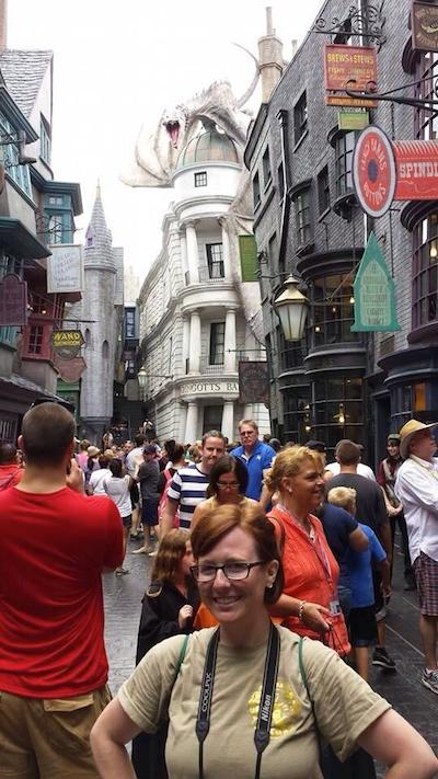 In Diagon Alley