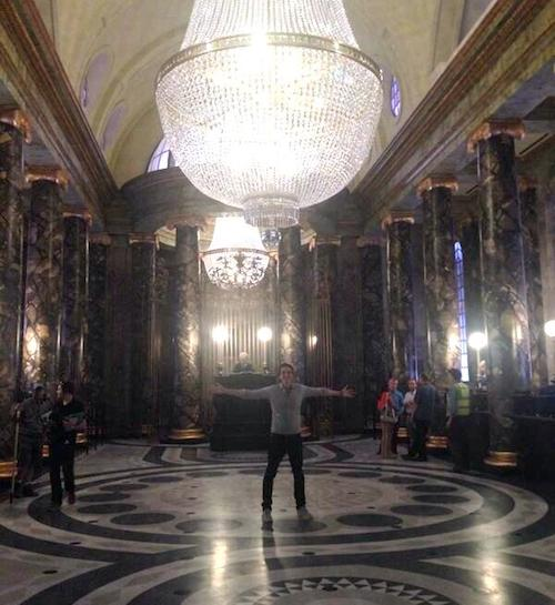 Inside Gringotts Bank